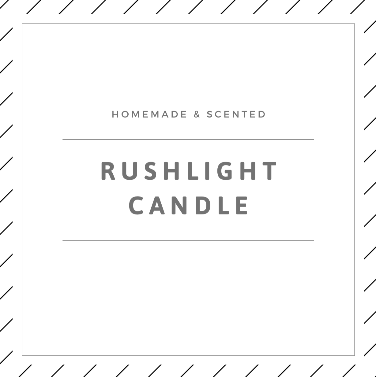 Rushlight Candle